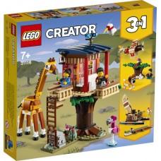 Lego Creator: 31116 Safari wilde dieren boomhuis
