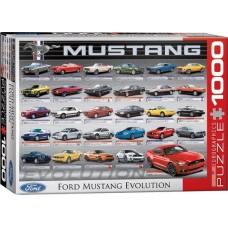 Eurographics: Ford Mustang Evolution 1000 stukjes
