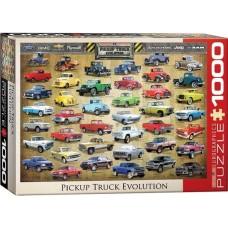 Eurographics: Pickup Truck Evolution 1000 stukjes
