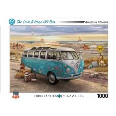 Eurographics: The Love & Hope VW Bus 1000 stukjes