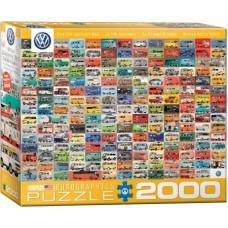 Eurographics: The VW Groovy Bus 2000 stukjes