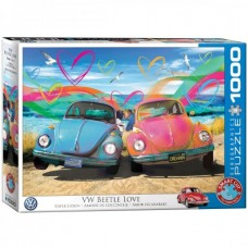 Eurographics: VW Beetle Love 1000 stukjes