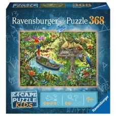 Ravensburger:  Escape Puzzel Kids: De Jungle Expeditie 368 stukjes