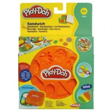 Play-Doh: Basic Food Speelset: Sandwich