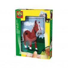 SES: Borduurset: Paard