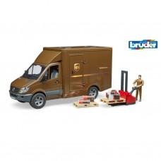 Bruder: 02538 Sprinter UPS met chauffeur