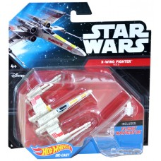 Hotwheels: Starwars: X-Wing Fighter red 5