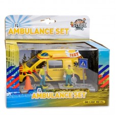 Kids Globe: Ambulance set met figuren