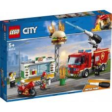 Lego City: 60214 Brand bij het hamburgerrestaurant