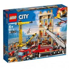 Lego City: 60216 Brandweerkazerne in de stad