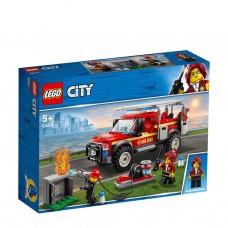 Lego City: 60231 Reddingswagen van de brandweercommandant