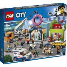 Lego City: 60233 Opening Donutwinkel