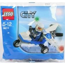Lego City: 30018 Politie Microlight