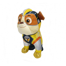Paw Patrol Mighty Pups Pluche 19 cm: Rubble
