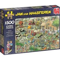 Jan van Haasteren: Boerderij Bezoek 1500 stukjes