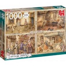 Anton Pieck: Bakkers uit 1900 1000 stukjes