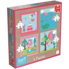 Lief! 4 in 1 puzzel
