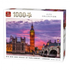 King: City Collection: Big ben and house of Parliament London 1000 stukjes