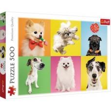 Trefl: Hondjes 500 stukjes