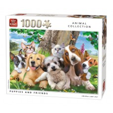 King: Animal Collection: Puppies and Friends 1000 stukjes