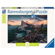 Ravensburger: 's Avonds in Rocky Mountains 1000 Stukjes
